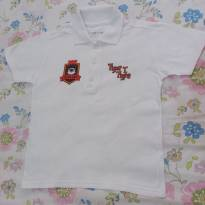 Camisa Polo Branca Tigor T. Tigre tam. 6 - 4 anos - Tigor T.  Tigre