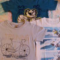 Kit camisetas Tigor e Puc - 4 anos - Tigor T.  Tigre