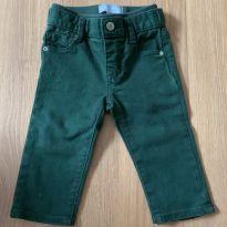 Calça de mocinho verde escuro Baby Gap - 1 ano - Baby Gap