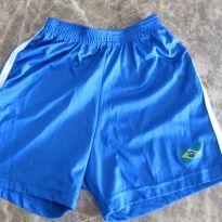 109-shorts Brasil 3-4 anos - 4 anos - semmarca