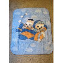 21-Cobertor 90x1,10 turma da monica -  - jolitex