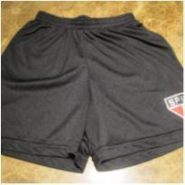 129- shorts sao paulo tamanho 6 - 5 anos - Sem marca