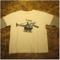 144- Camiseta manga long Gymboree 18-24m - 18 a 24 meses - Gymboree
