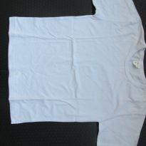 160- Camiseta Gana Baby branca basica - 8 anos - Gana Baby
