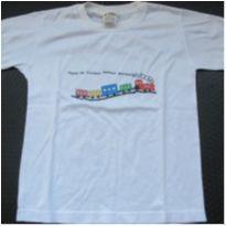 167- Camiseta pocos de caldas novo - 8 anos - Sem marca