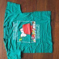 213-Camiseta 7 anos - 7 anos - Peanuts - USA