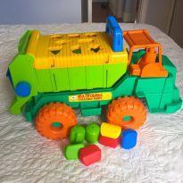 Caminhão com peças de encaixe - GULIVER BABY - Sem faixa etaria - Guliver