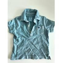 Kit 2 Blusas Polo Carters - 6 meses - Carters - Sem etiqueta
