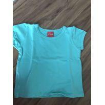 Baby look azul Tricae - 3 anos - Tricae
