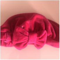 Boina rosa infantil -  - Não informada