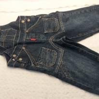Macacão Jeans Chicco - 1 ano - Chicco