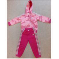 Conjunto ADIDAS rosa - 18 a 24 meses - Adidas