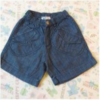 Short Jeans Tyrol Feminino - 6 meses - Tyrol