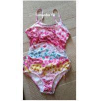 Lote roupas menina conjunto, blusinha e maiô tamanho 7 anos preço imperdível - 7 anos - Lilica Ripilica e Malwee