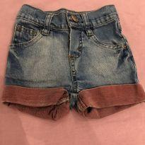 Short jeans - 9 a 12 meses - Baby Club