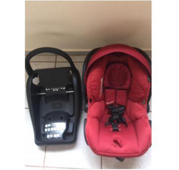 Bebê conforto Maxi Cosi Mico com suporte para carro - Sem faixa etaria - MAXI-COSI e Maxi Cosi Mico c base