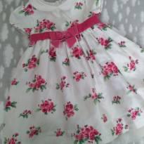 Vestido floral Gym - 18 a 24 meses - Gymboree