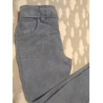 Calça jeans estampada - 24 a 36 meses - Não informada