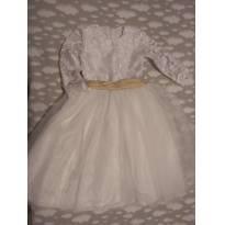 Vestido daminha - 3 anos - Costureira