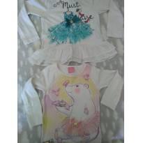 Duo blusinhas Momi - 2 anos - Mommi