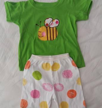 Pijama abelha - 3 anos - Não informada