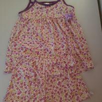 Pijama florido - 6 anos - Chacabru Baby