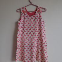 Vestido flamingos - 6 anos - Outras