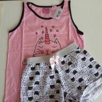Pijama gatinho unicornio - 10 anos - Outras