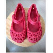 Mini Melissa Campana Crochet Vermelha - 28 - Melissa