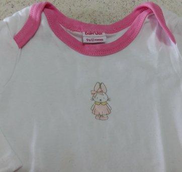 Conjunto Baby Way Coelhinha - 9 a 12 meses - Baby Way