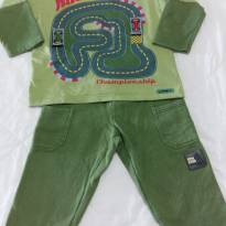 Conjunto Verde Pista Marisol - 3 anos - Marisol