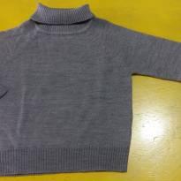 Blusa Lã Cinza Póim - 1 ano - Póim