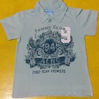 Camisa polo tennis club - 2 anos - Alenice