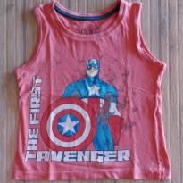 Regata Capitão América - 2 anos - Avengers