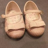 Sapatilha bonec rosa com poás dourados - 04 - Kidy