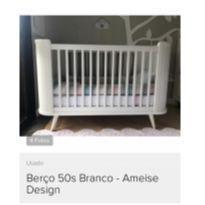berço 50s branco - ameise design -  - Ameise Design