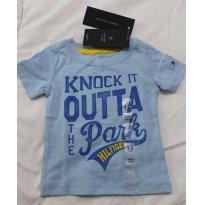 Camiseta Tommy Hilfiger - 3-6m - NOVO - 3 a 6 meses - Tommy Hilfiger