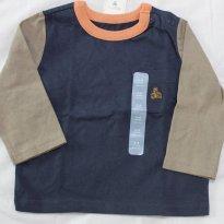 Camiseta GAP manga longa - 3-6m - NOVO - 3 a 6 meses - GAP