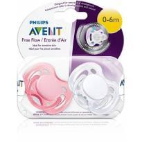 Kit chupeta Avent 0-6m - NOVO -  - Avent Philips