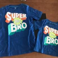 Kit Camisetas Irmãos - Carters - 4 anos - Carter`s
