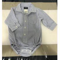 Camisa body Carters 6m - 6 meses - Carter`s