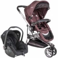 carrinho de bebê travel system compass marrom lenox kiddo -  - Kiddo