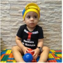Body kiko com boina - 6 meses - Baby