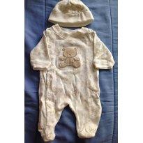 Macacão RN - Urso - Layette - Recém Nascido - Layette