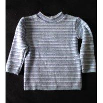 Blusa Lã tipo Cacharrel - Serve até 18 meses - 12 a 18 meses - Não informada