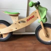 Bicicleta em Madeira RUNNA - Sem pedal