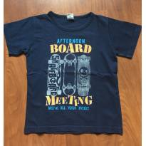 Camiseta  Azul marinho - 3T - Kidstok - 3 anos - Kidstok