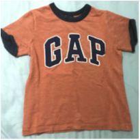 Camiseta laranja GAP - 4T - 4 anos - Baby Gap