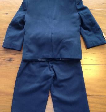 Terno Infaltil/Terninho Azul Marinho Tommy Hilfiger 18M - 18 meses - Tommy Hilfiger