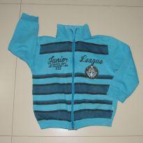 casaco /moletom azul rovitex - 4 anos - Rovitex Kids